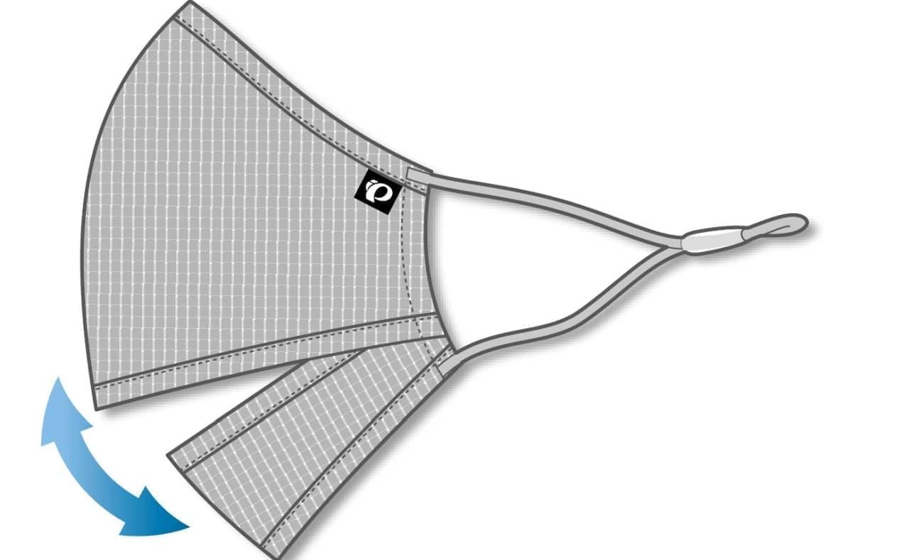サイクルウエアのパールイズミから口部分が大きく開く「ベンチレーションマスク」数量限定発売