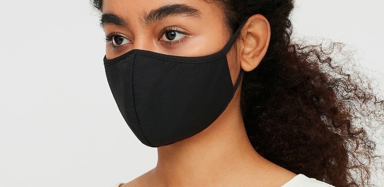 ユニクロの「エアリズムマスク」に新色「ブラック」