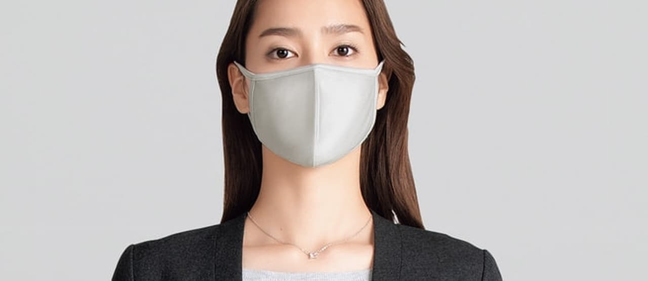 紳士服・婦人服のAOKIからファッション性の高いマスク2種発売