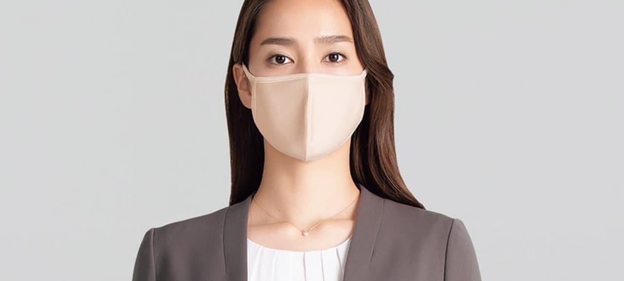 紳士服・婦人服のAOKIからファッション性の高いマスク2種発売 - スーツに合うタイプも