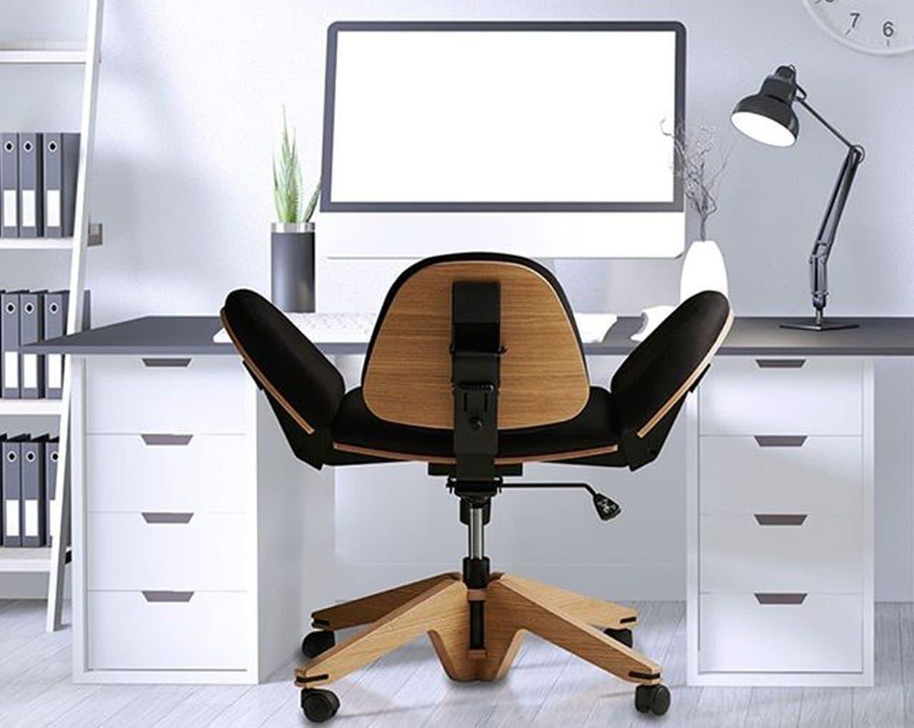 テレワークに!10以上の座り方で仕事のパフォーマンスを高める椅子「BeYou」