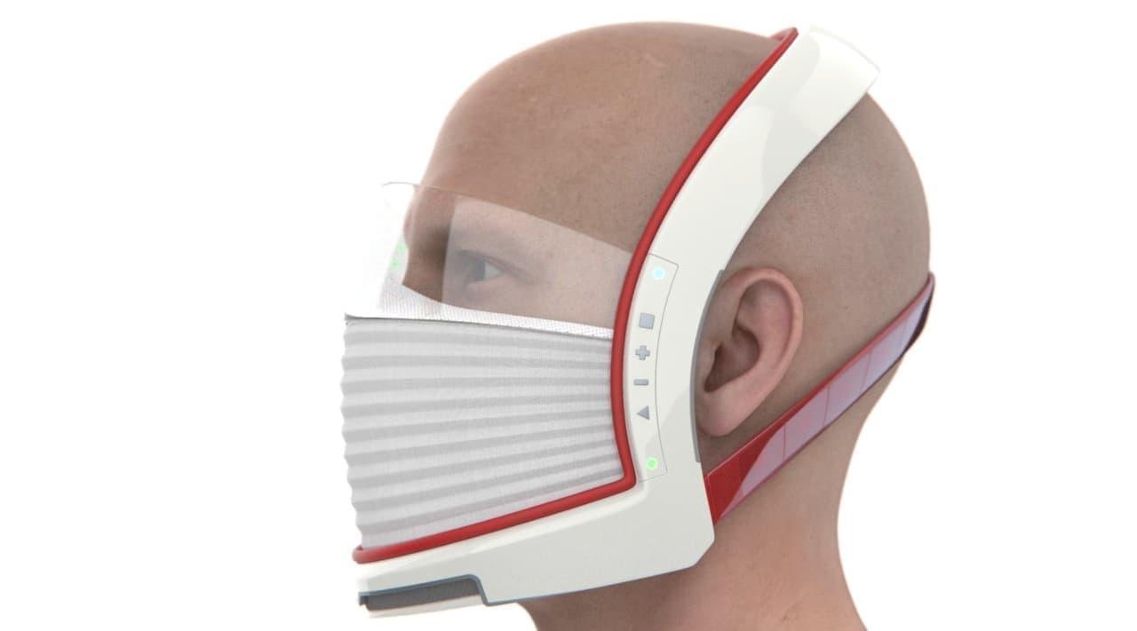 テスラEVのような最新テクノロジーを搭載したマスク「Elon Mask(イーロン・マスク)」コンセプト