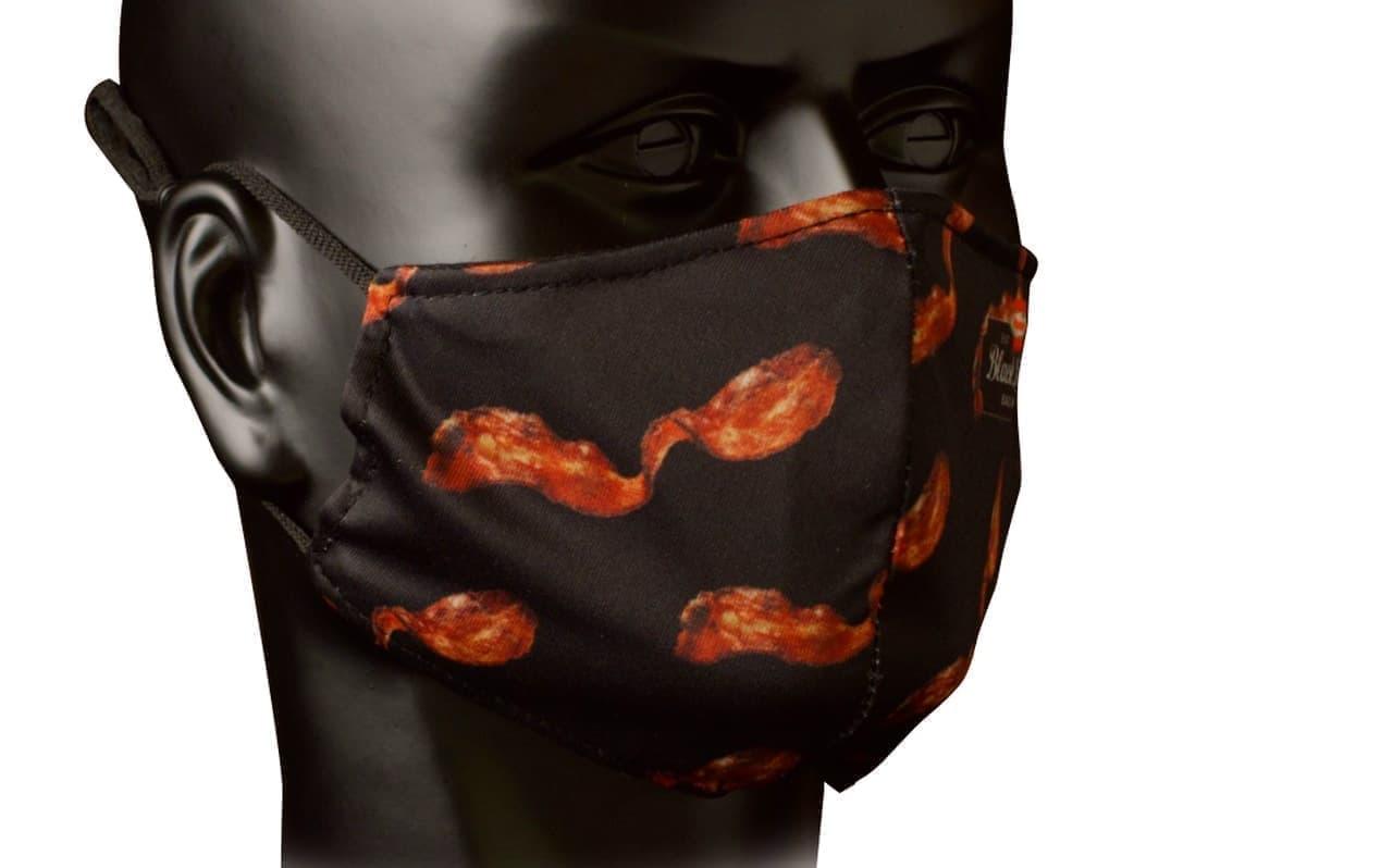 ベーコンの香りのマスク ブラックラベルの「Breathable Bacon(吸えるベーコン)」 -