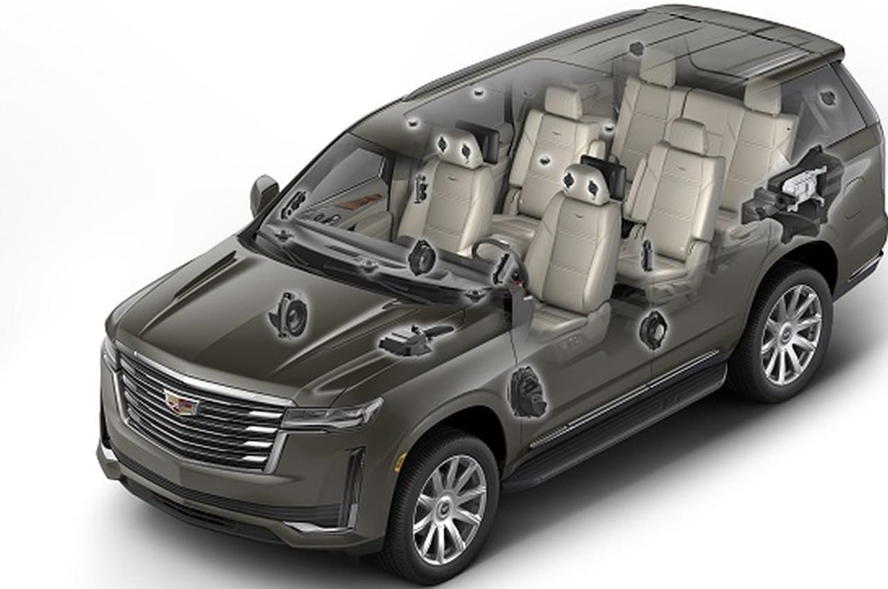 価格は1,490万円から 38インチディスプレイ AKGオーディオシステム搭載SUV「キャデラック エスカレード」発売