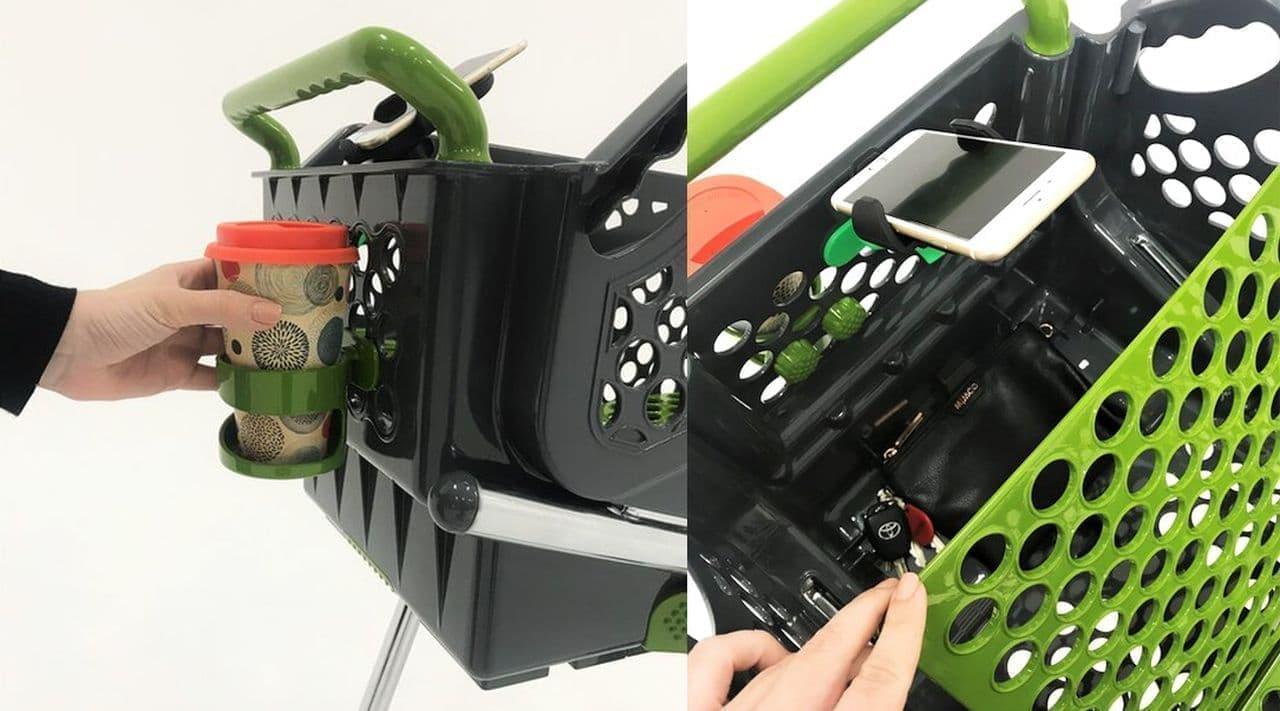 エコバッグではなくエコカート!袋詰め作業を不要にする「Shoppa Cart」