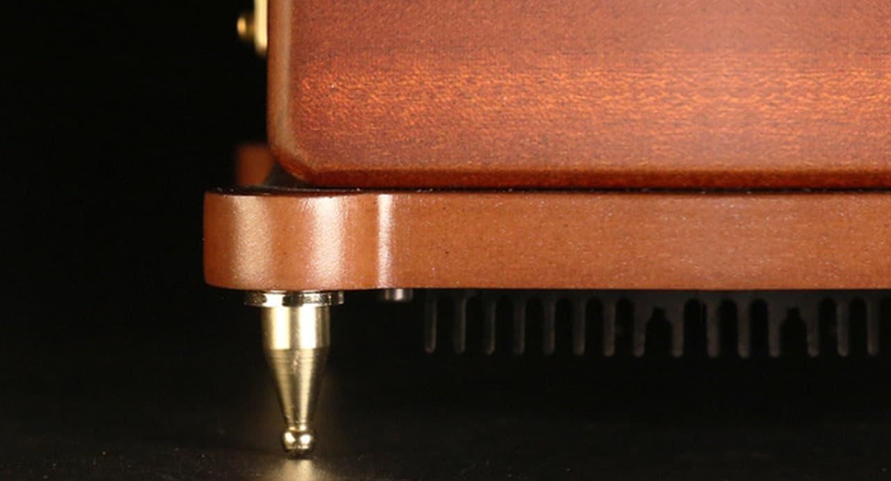 アナログアンプ搭載Bluetoothスピーカー「カチューシャ」