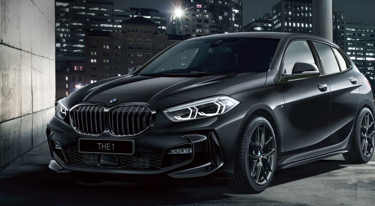 BMW 1シリーズに漆黒の限定車「BMW 118d Pure Black」10台限定で発売
