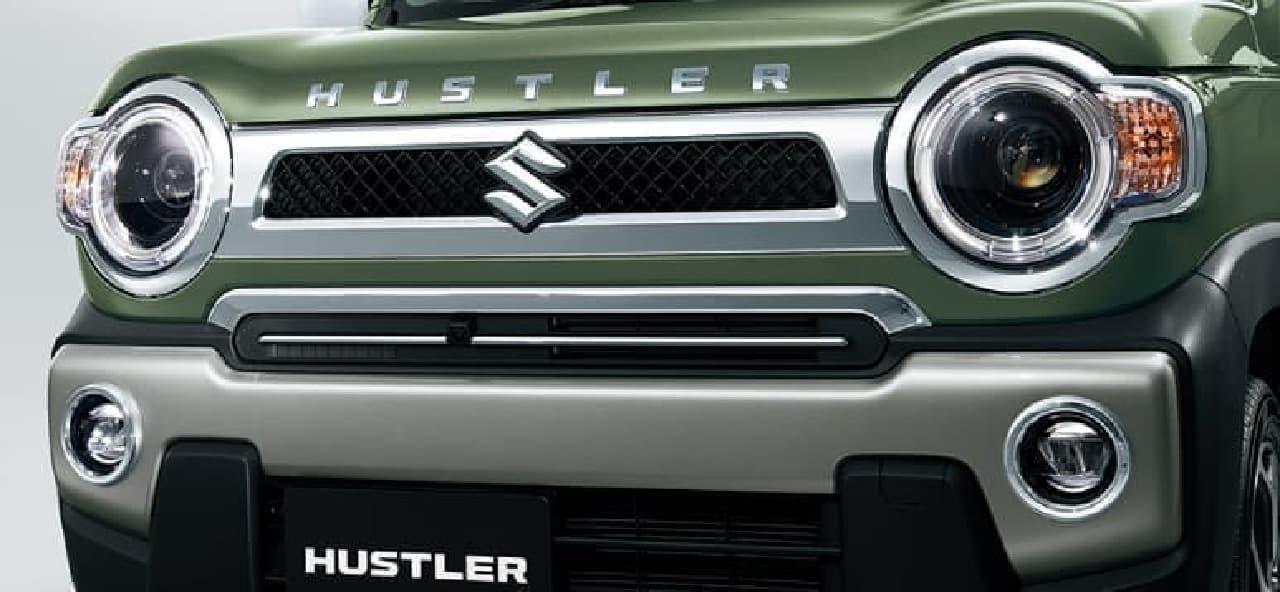 スズキ「ハスラー」に特別仕様車「J STYLE」