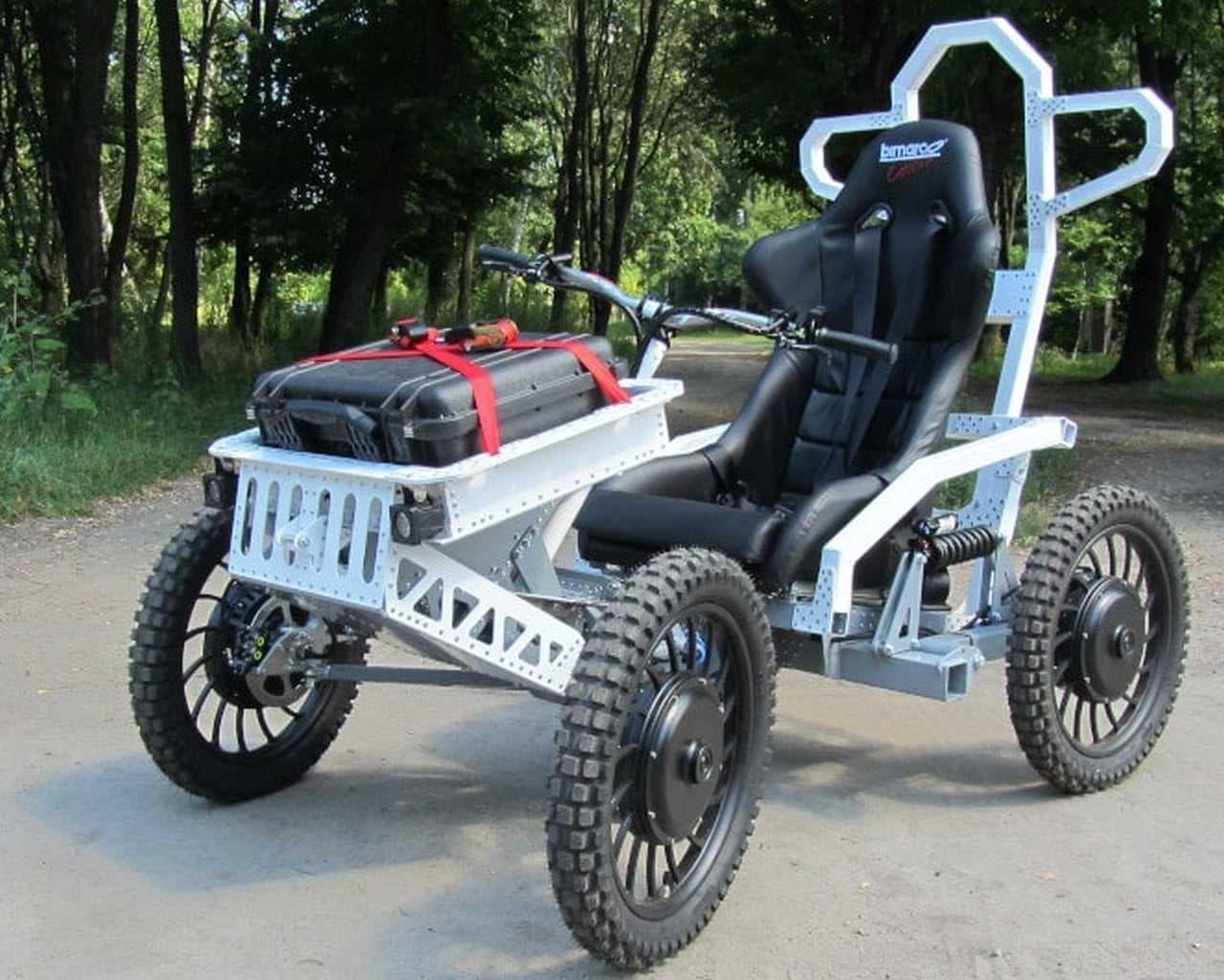 マウンテンカート「EV4 Mountain Cart 4x4」