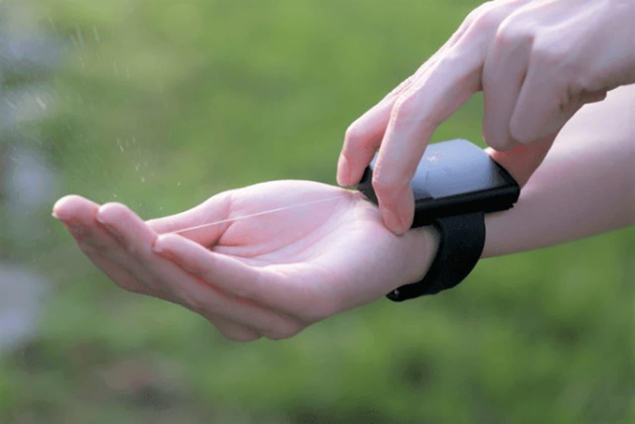 いつでもどこでも手指を消毒できる「PumPiX」Makuakeで先行販売開始
