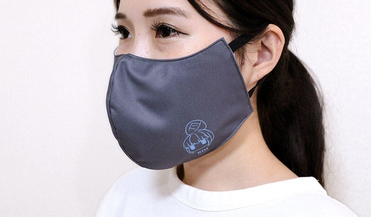 『ゆるキャン△』ファッションマスク発売 ブランケットとワンポイントの2種
