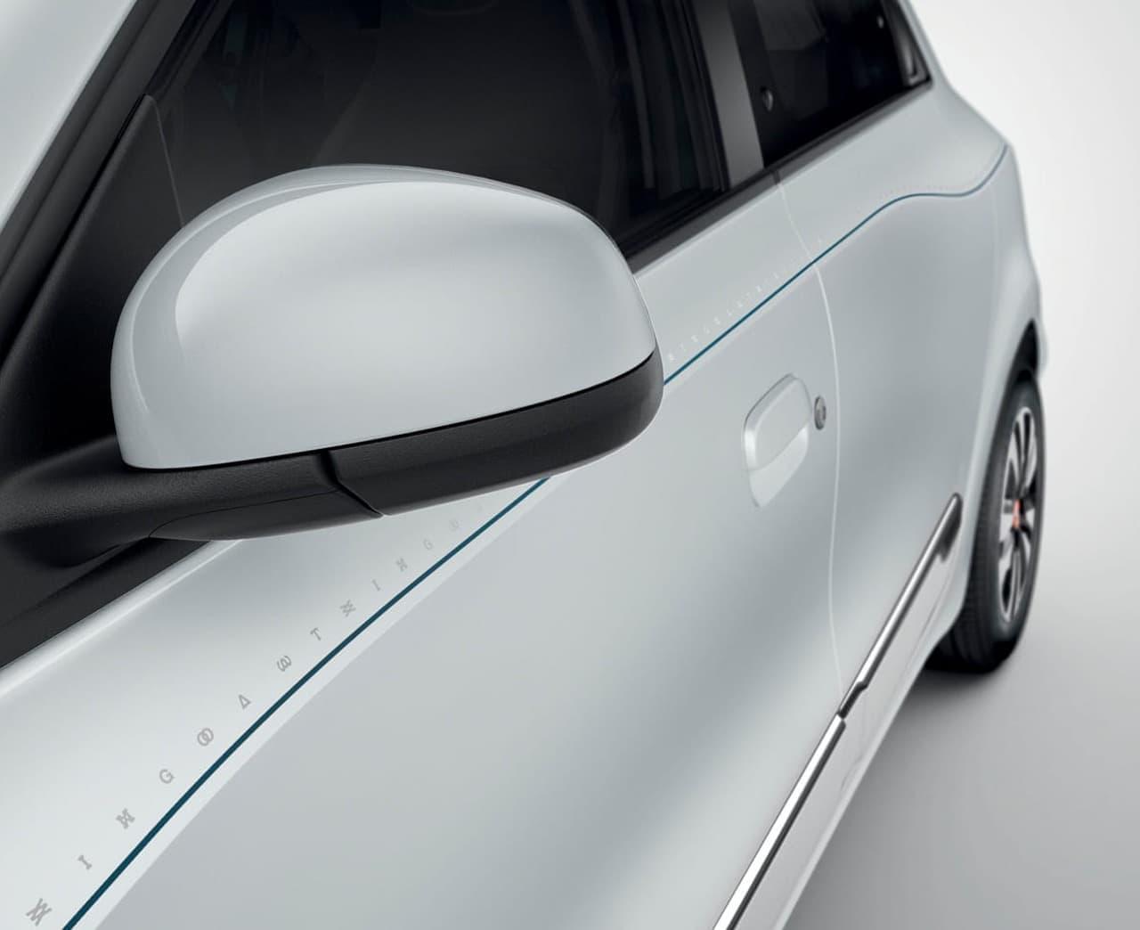 ルノー「トゥインゴ 」の特別仕様車「シグネチャー」に新色ブラン クオーツM追加