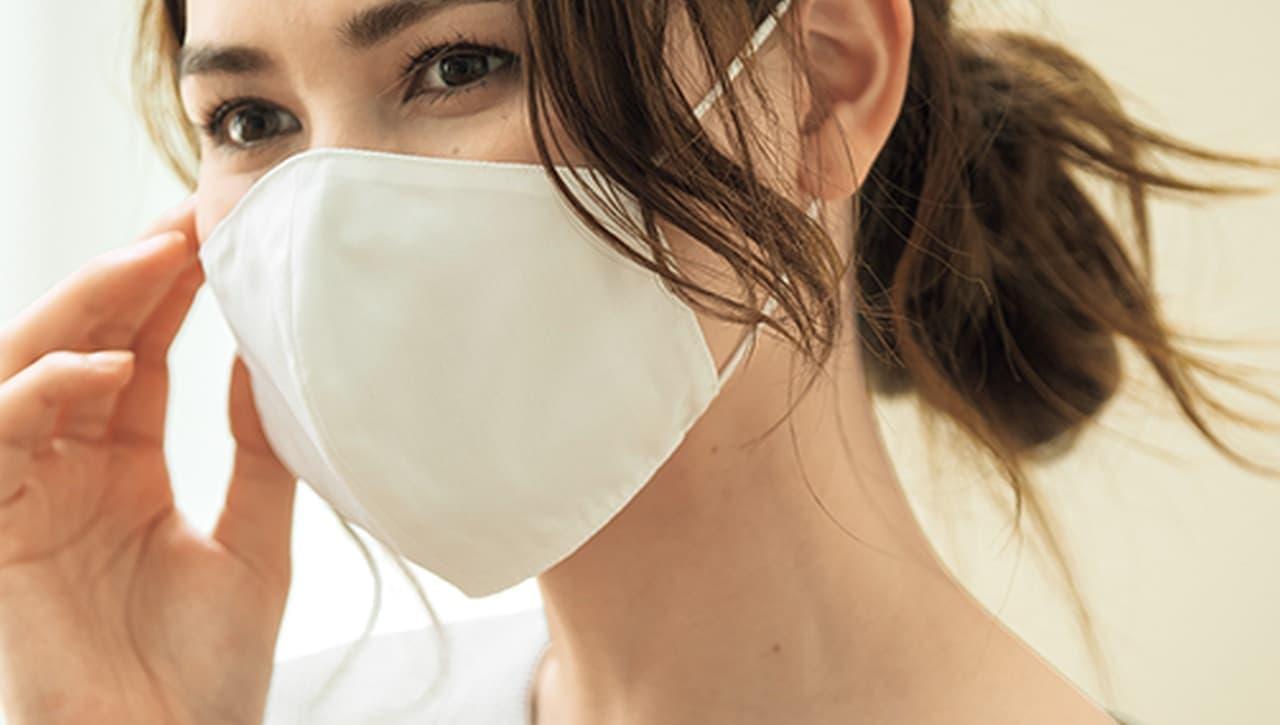 男性向け大きめタイプも! DHCから抗菌・抗ウイルス素材「ポケット付きマスク(クレンゼ)」発売