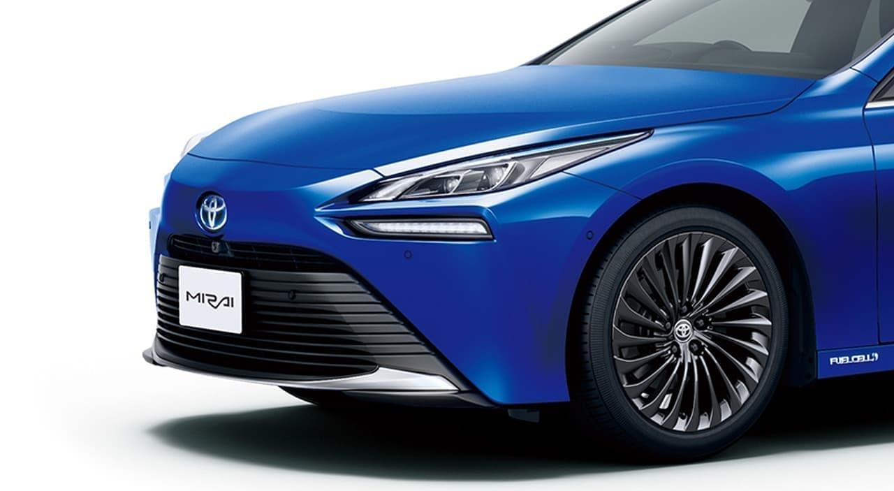 トヨタ新型「MIRAI」発売