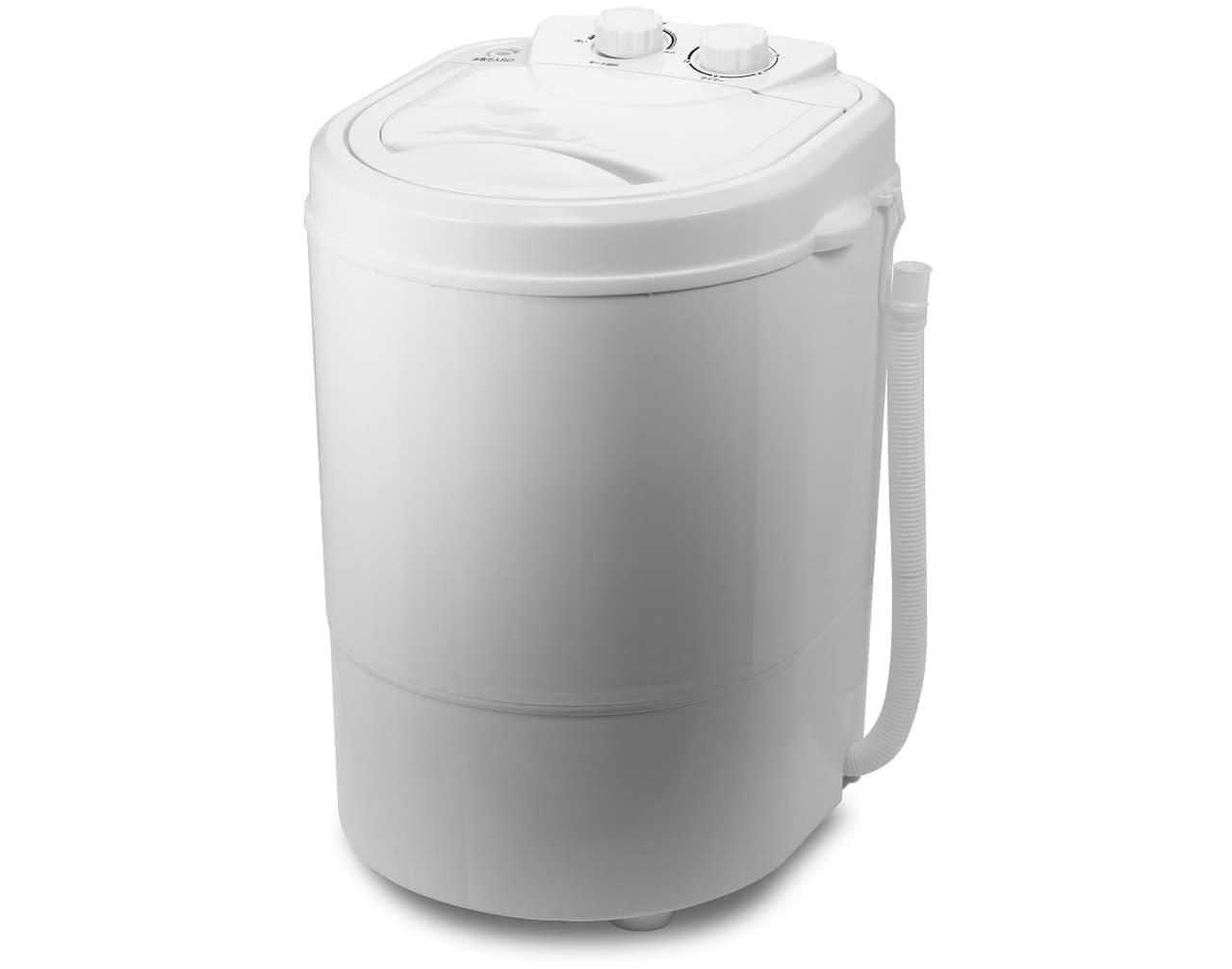 スニーカーを洗える洗濯機 ROOMMATEの洗いブラシ付きポータブル洗濯機 発売!