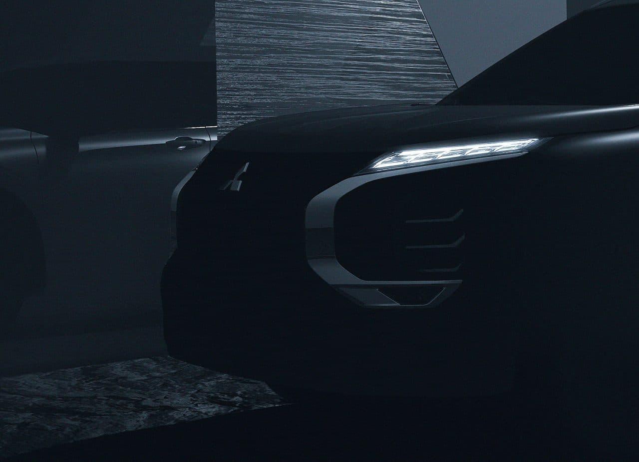 三菱 新型「アウトランダー」2021年2月発表 - デザインを一部公開