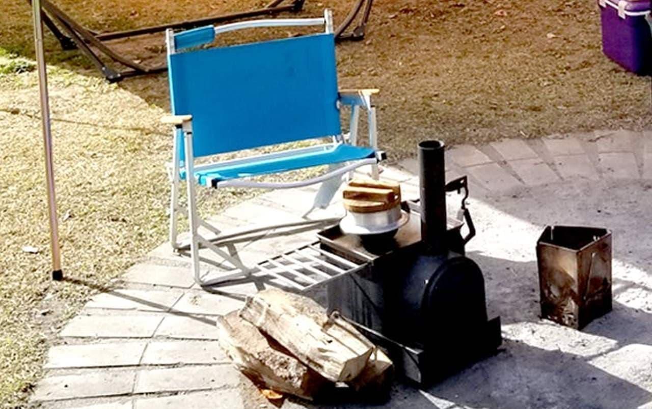 機関車型の薪ストーブ「グレン」