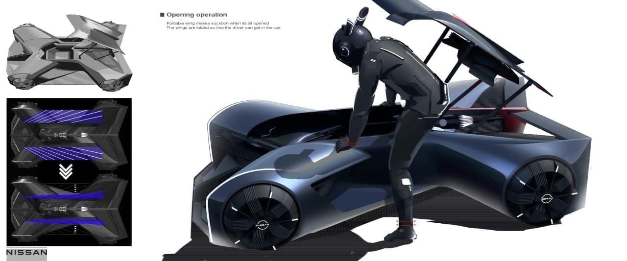 日産GT-Rを着る?北米日産がコンセプトカー「GT-R (X) 2050」を公開