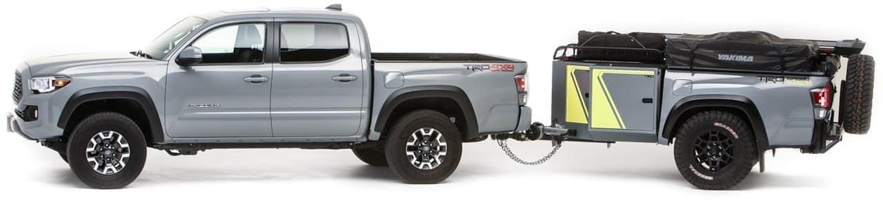 トヨタが北米でキャンピングトレーラーのコンセプトモデル「TRD-Sport Trailer」発
