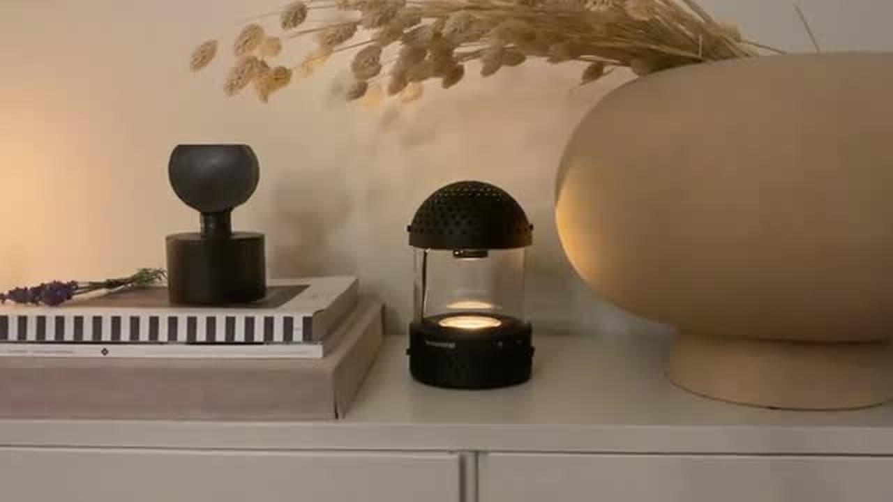 キャンプに持っていきたい!ランタン型Bluetoothスピーカー「Light Speaker」