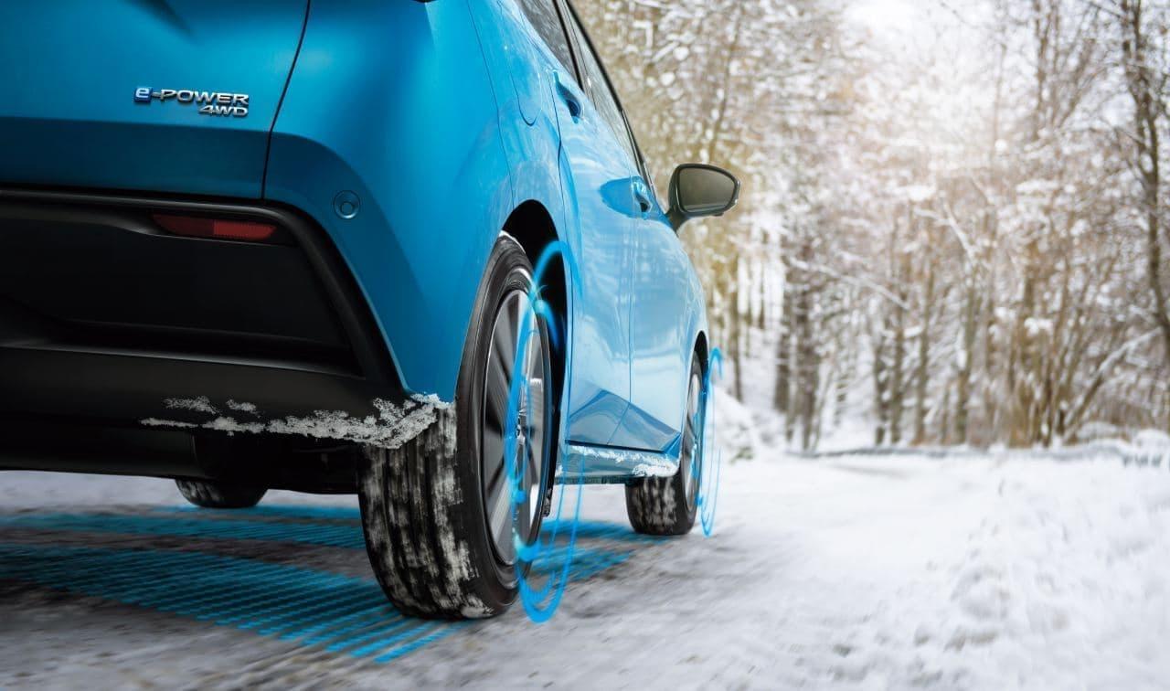 日産 新型ノート e-POWER 4WDを発表 ― 4輪すべてをモーターで駆動
