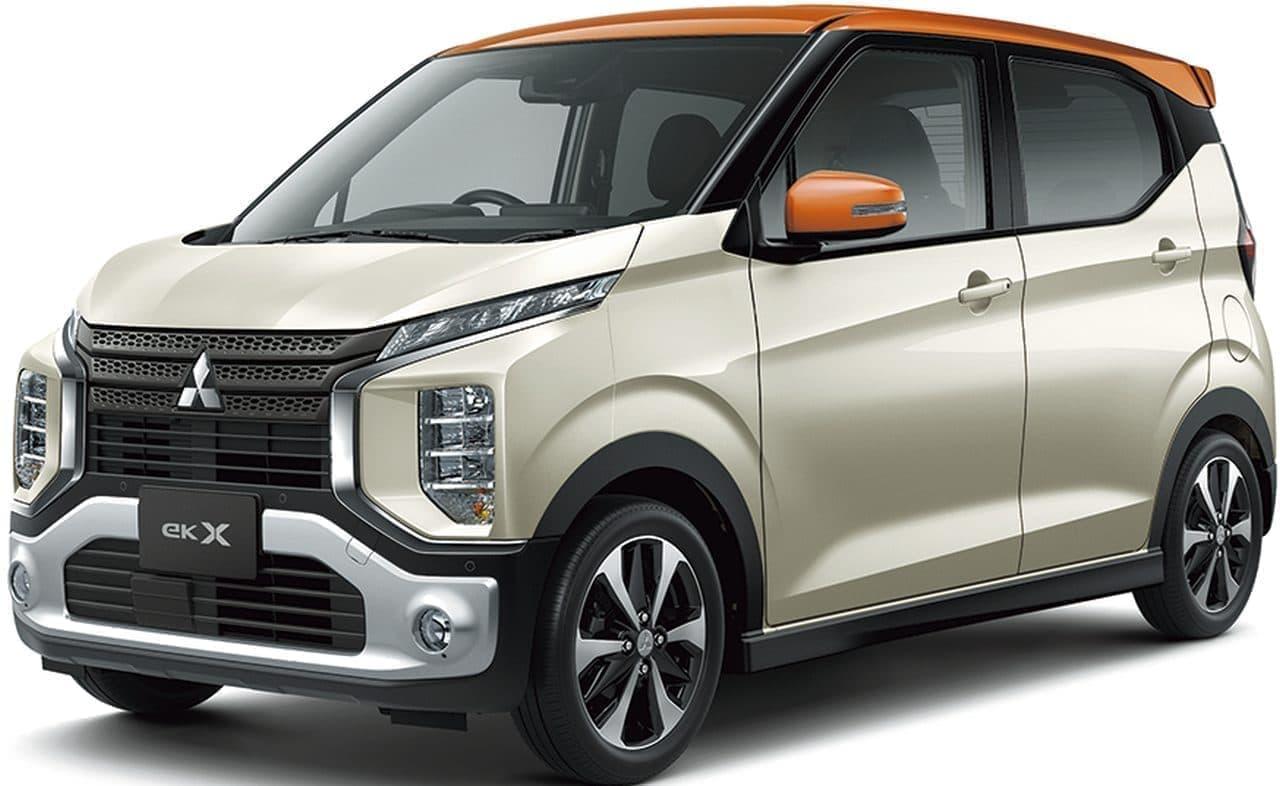 三菱「eKクロス」「eKクロス スペース」に特別仕様車「G Plus Edition」