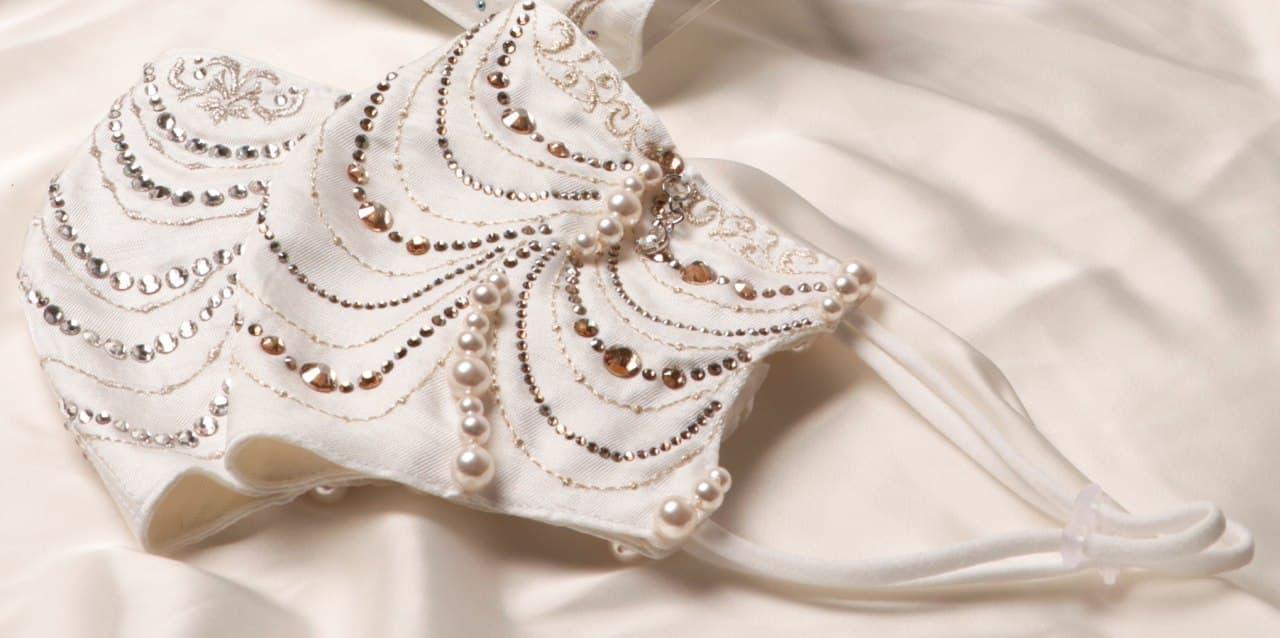 100万円マスク 関西初進出 - あべのハルカス近鉄本店で「ダイヤモンドマスク」を展示・受注販売