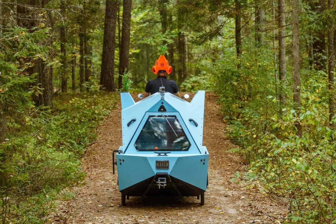 自転車キャンピングカー「Z-TRITON」