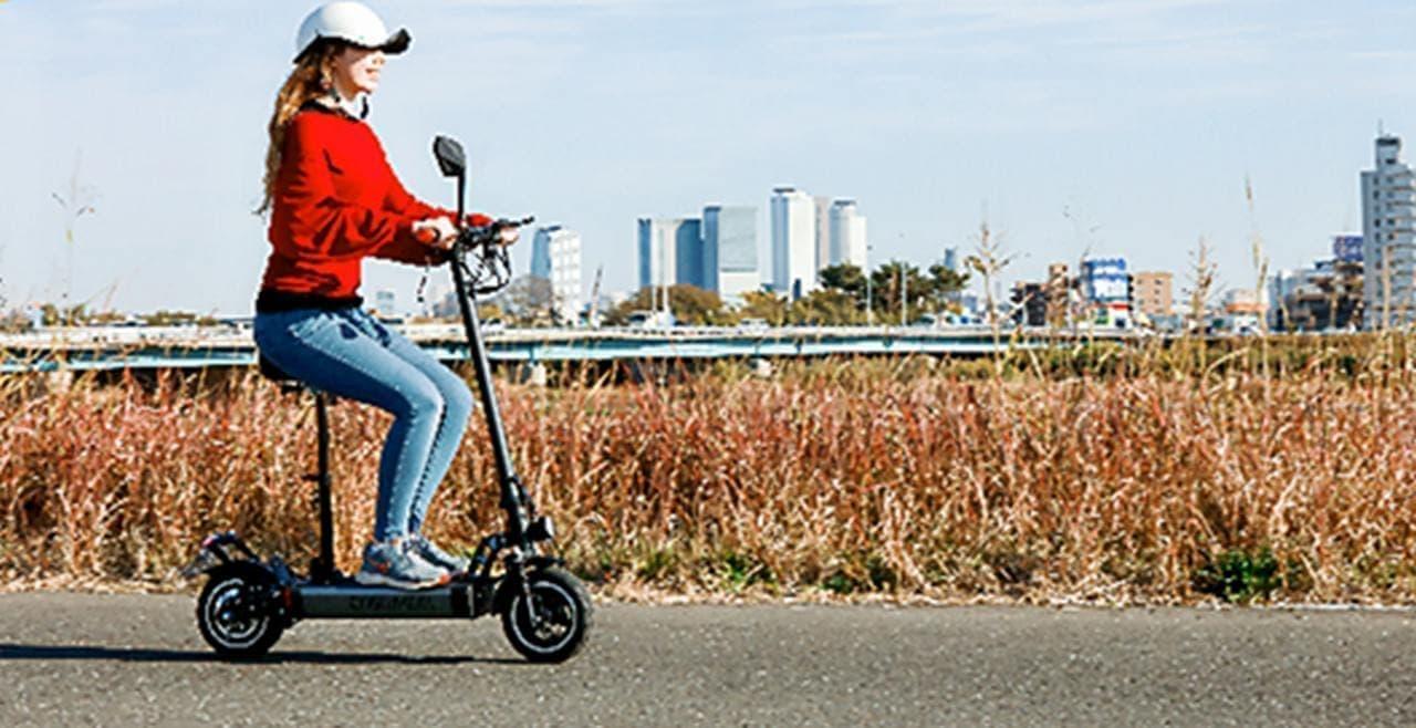 公道を走れる電動キックスケーター「COSWHEEL EV SCOOTER」1月8日予約開始