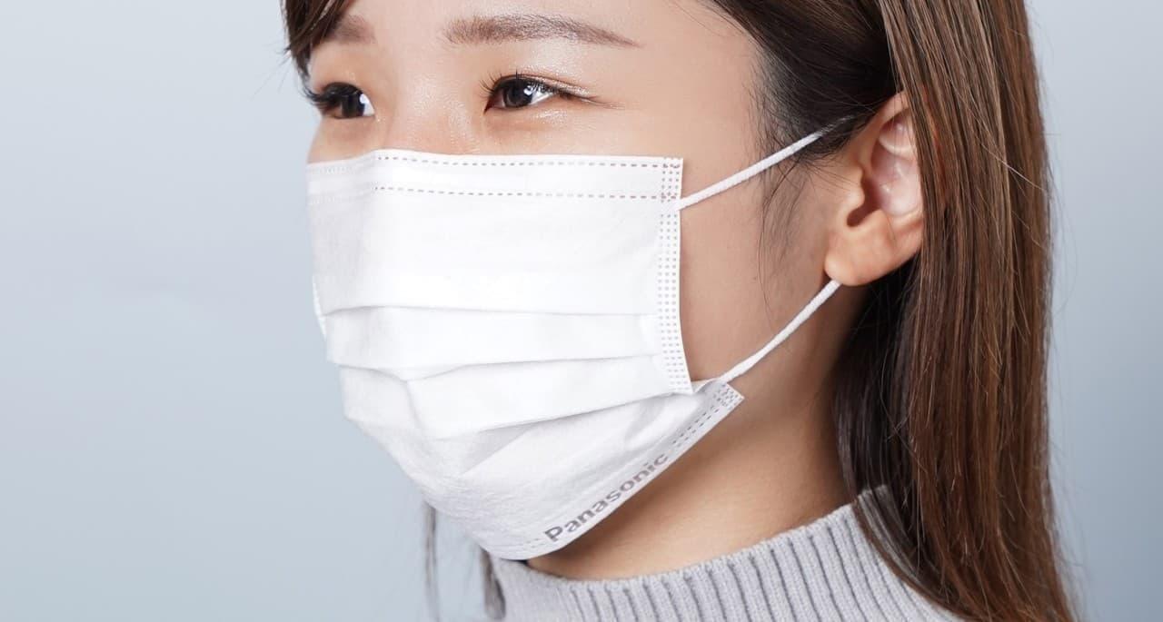 パナソニックのロゴ入り!「3層不織布マスク」一般販売 1月12日開始