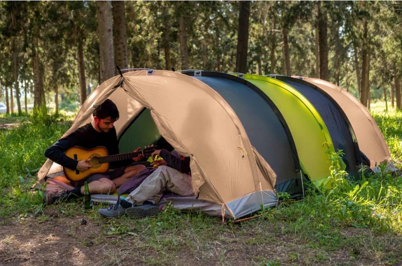 テント・マットレス・寝袋がひとつになったぼっちテント「RhinoWolf2.0」日本上陸