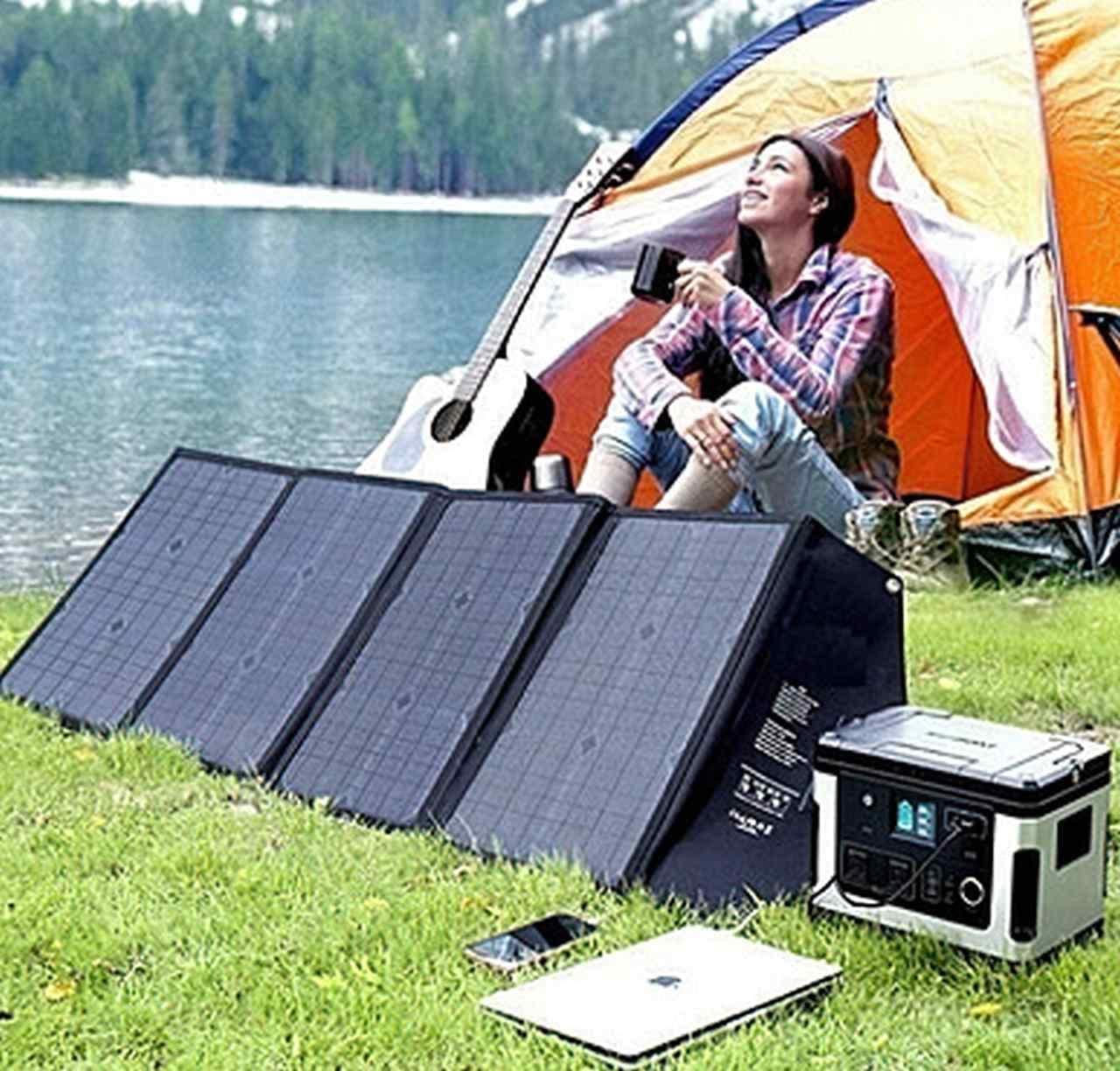 キャンプに便利!4万2,000mAhのポータブル電源「T103パワーバンク」