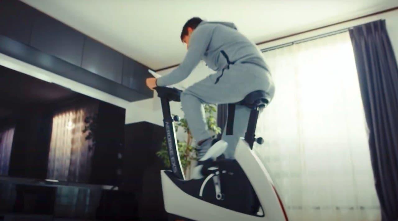 【自宅でエクササイズ】フィットネスバイク最新モデル「エアロバイクEXS」
