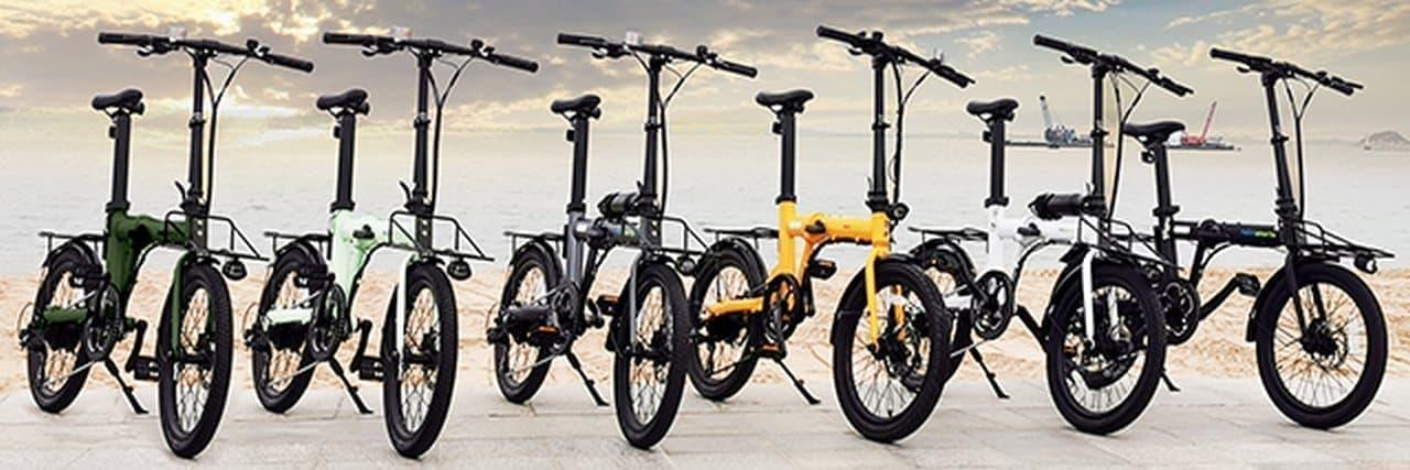 バッテリーはボトルとシートピラーに - 最長で100kmのアシストが可能な電動アシスト自転車「naicisports power 2.0」