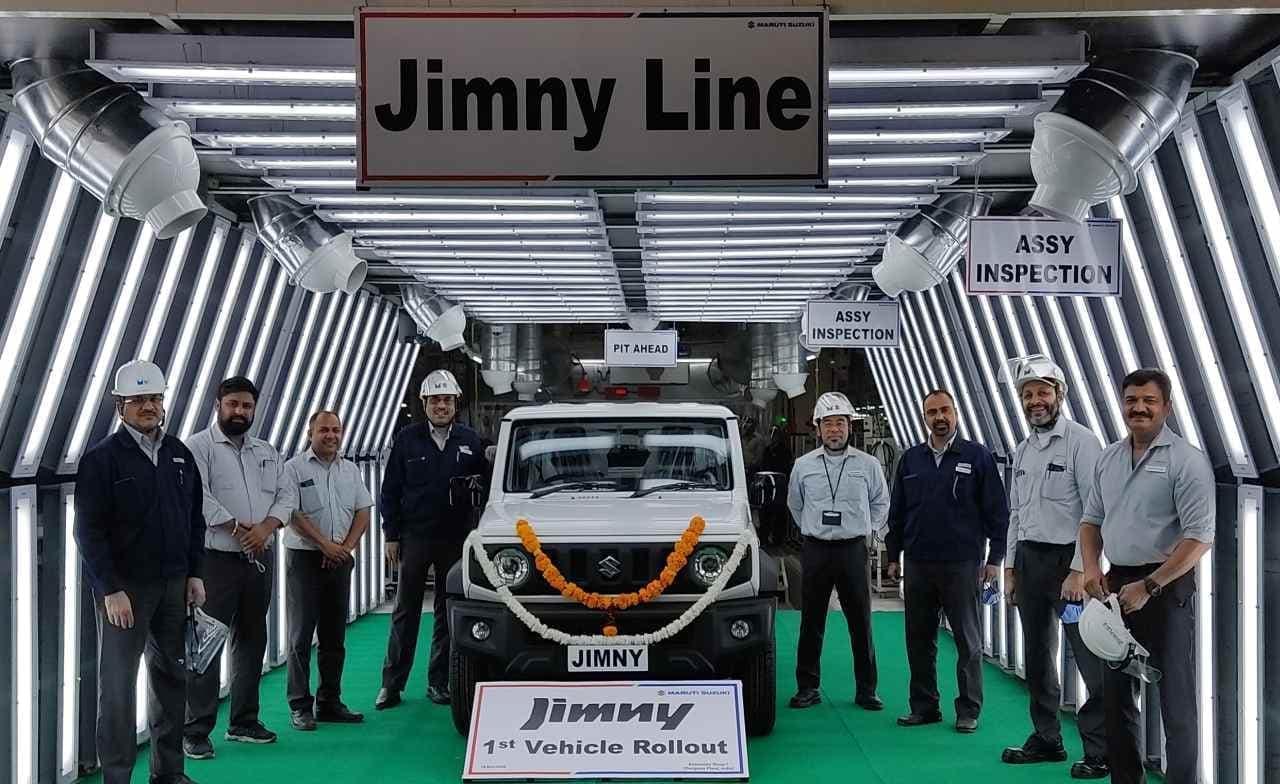 スズキ、インドで「ジムニー」の生産・輸出を開始
