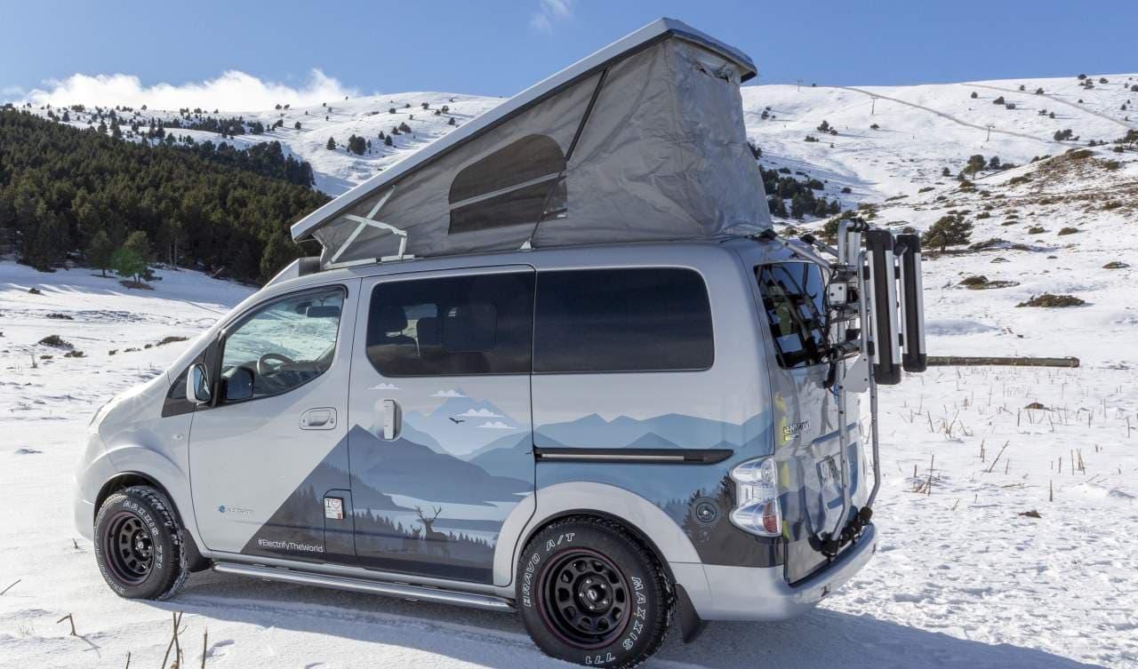 日産が冬のキャンピングカーコンセプトモデル「e-NV200 Winter Camper concept」を欧州で公開