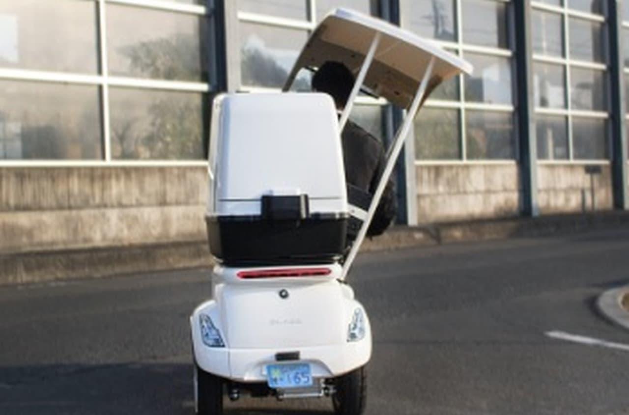 3輪の電動バイク「EV DELIVERY(デリバリー)」― 電動モビリティのブレイズから