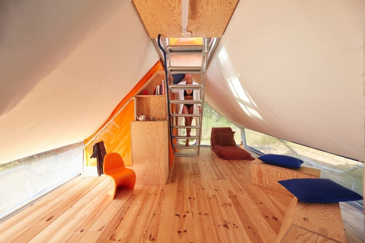 【キャンプ?】2階建てのテント「SUPERPAUSEE」― 窓から美しい景色を楽しめる!