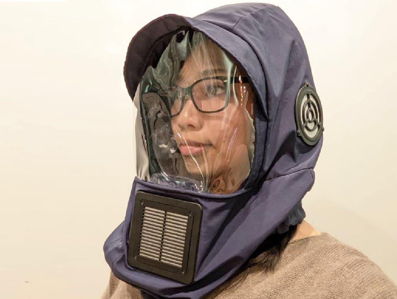 顔だけ 無花粉室に ― サンコーから「花粉ブロッカー3」発売