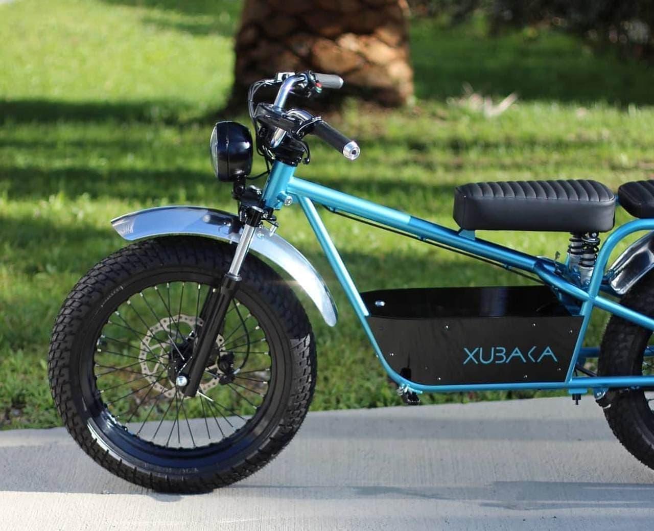 Sodium Cyclesの電動バイク「Xubaka」 ― ナトリウムイオン電池の実用化を目指して