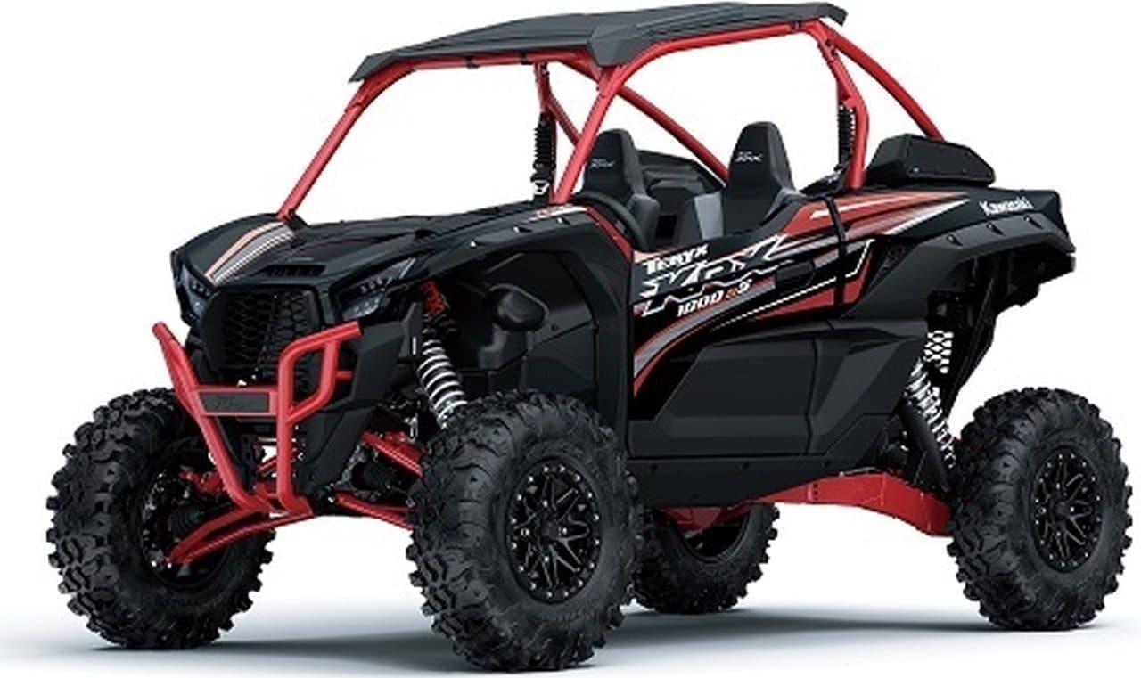 カワサキ オフロード四輪「TERYX KRX 1000 eS」「TERYX S」を北米市場中心に発売