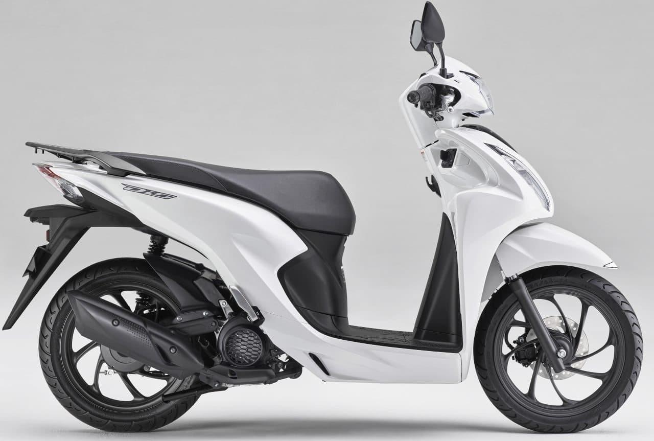 ホンダ「Dio110」フルモデルチェンジ! 新エンジン&新フレームを搭載