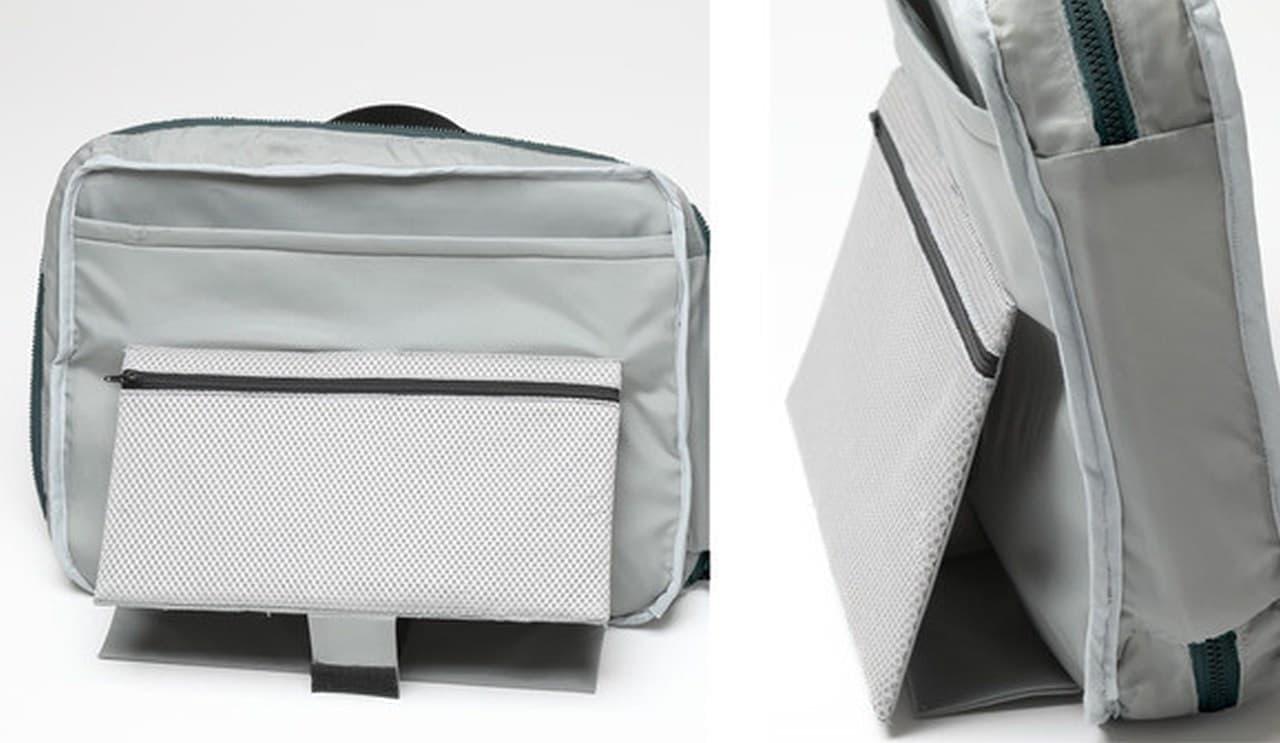 【テレワーク】どこにでも仕事空間を作れるショルダーバッグ「スマートテレバッグ」