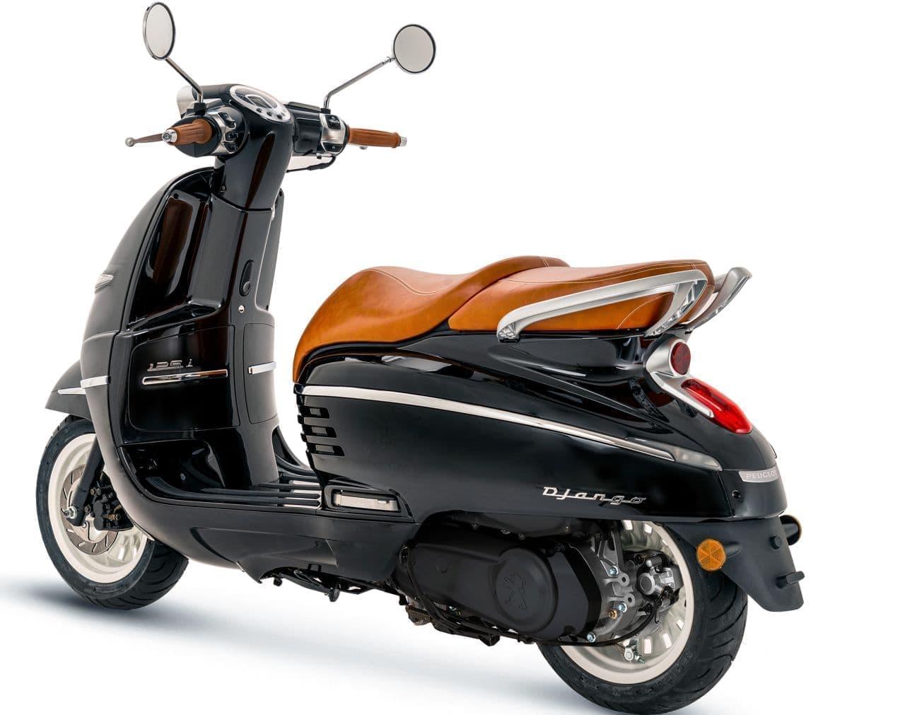 プジョー「ジャンゴ」に2021年モデル - 新色&新グレード追加