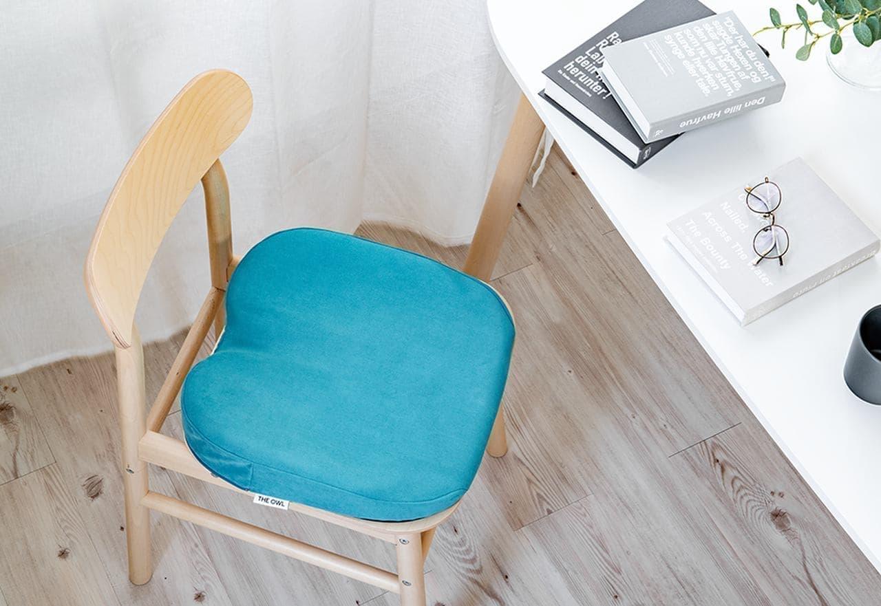 【テレワーク】長時間の座り疲れに対応したクッション「ザ・アウル シリーズ」発売 仕事環境が整っていない自宅での作業に