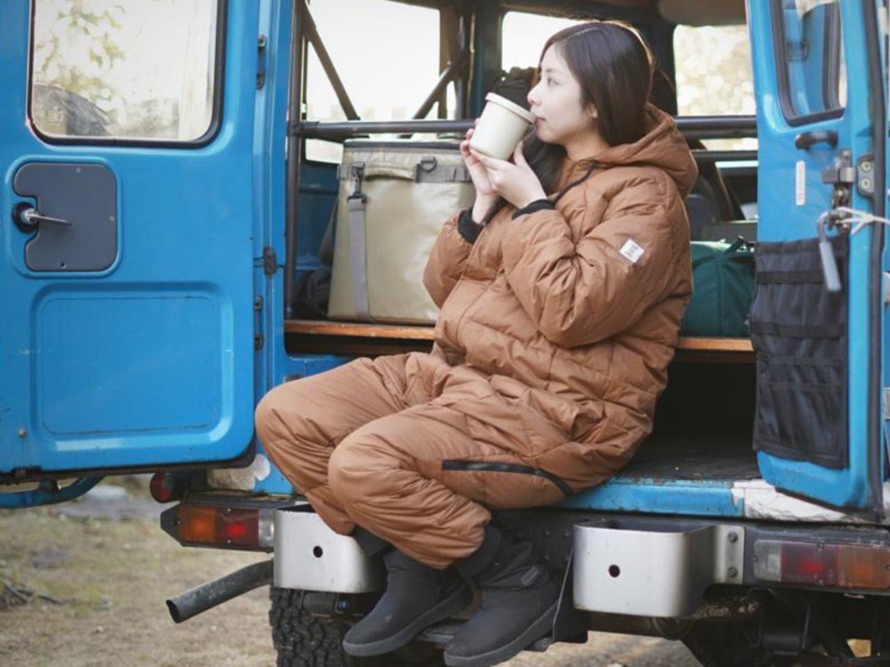人型防寒ウェア「ブクロマンX」