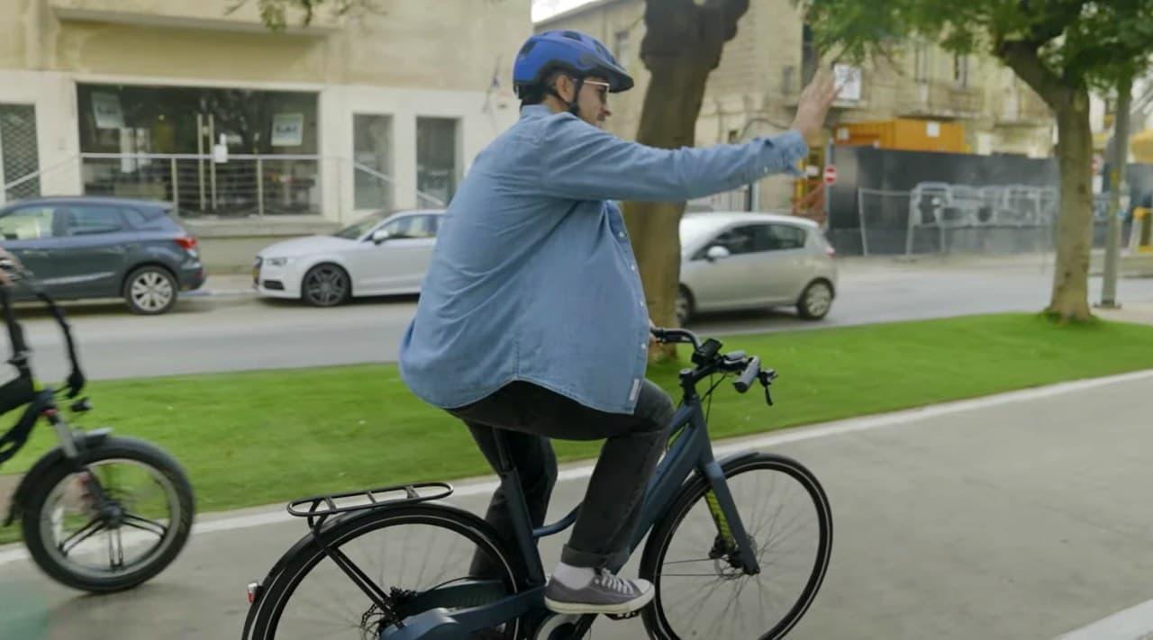 油圧で走る自転車「OYO」チェーンレスでメンテナンスフリー