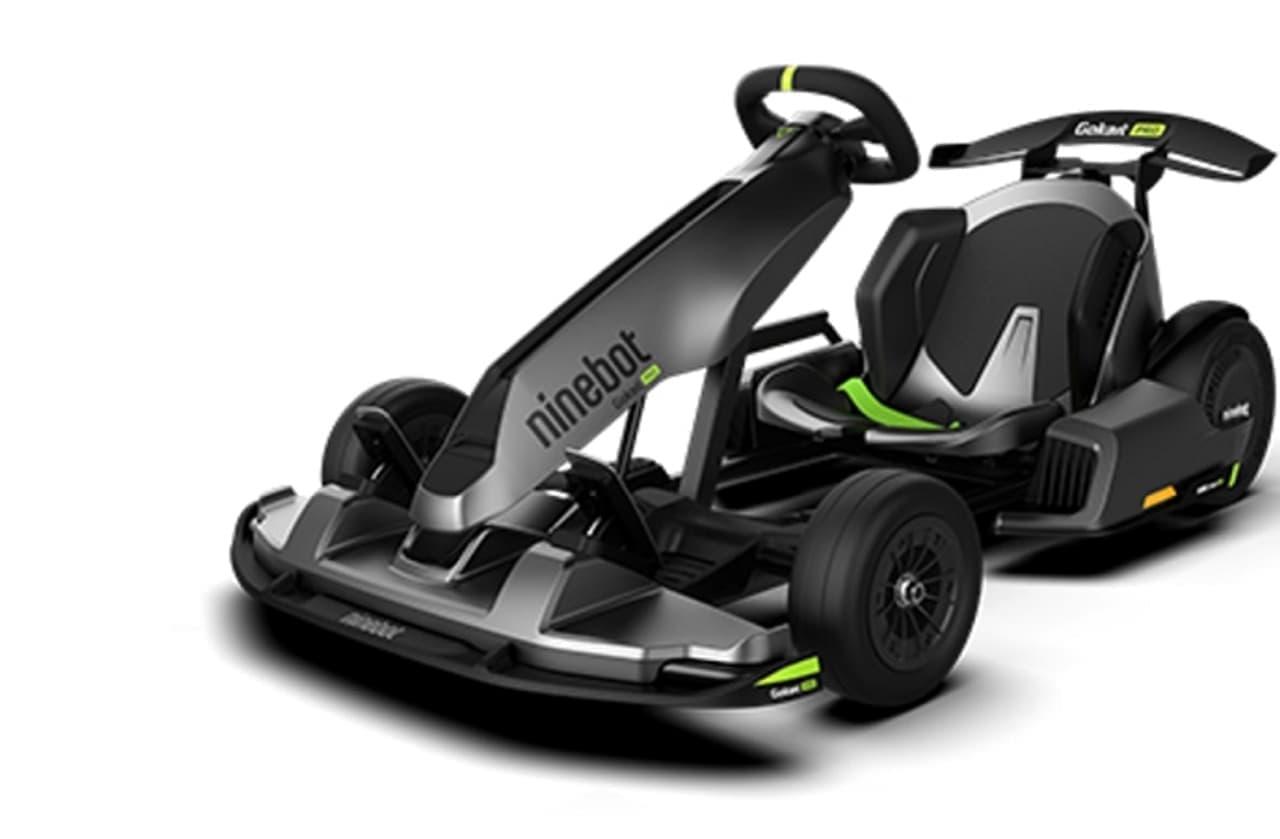 セグウェイから電動ゴーカート「Ninebot Go Kart PRO」登場 ― 初心者でもドリフト走行できる