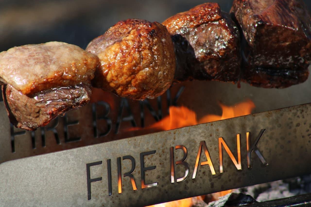 回転する肉焼き器「肉グル」