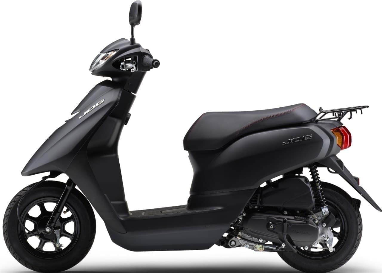 ヤマハ「JOG Deluxe」「JOG」 に2021年モデル 新色3色追加